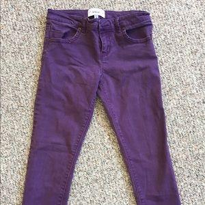 Sanctuary purple jeans. Size 28